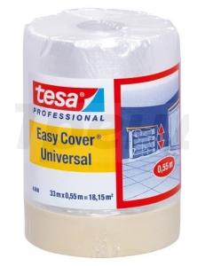 Укрывная пленка с малярной лентой Easy Cover® tesa 4368